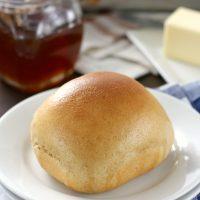 30 Minute Honey Wheat Dinner Rolls