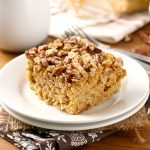 Maple Pecan Pumpkin Baked Oatmeal Recipe from A Kitchen Addiction
