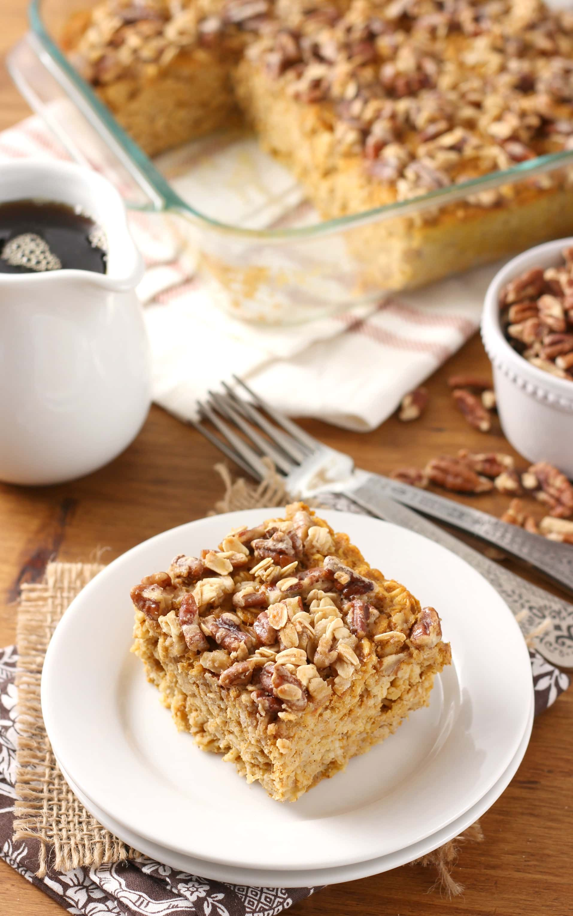 Pumpkin Spice Oatmeal With Raisins And Pecans Recipe — Dishmaps