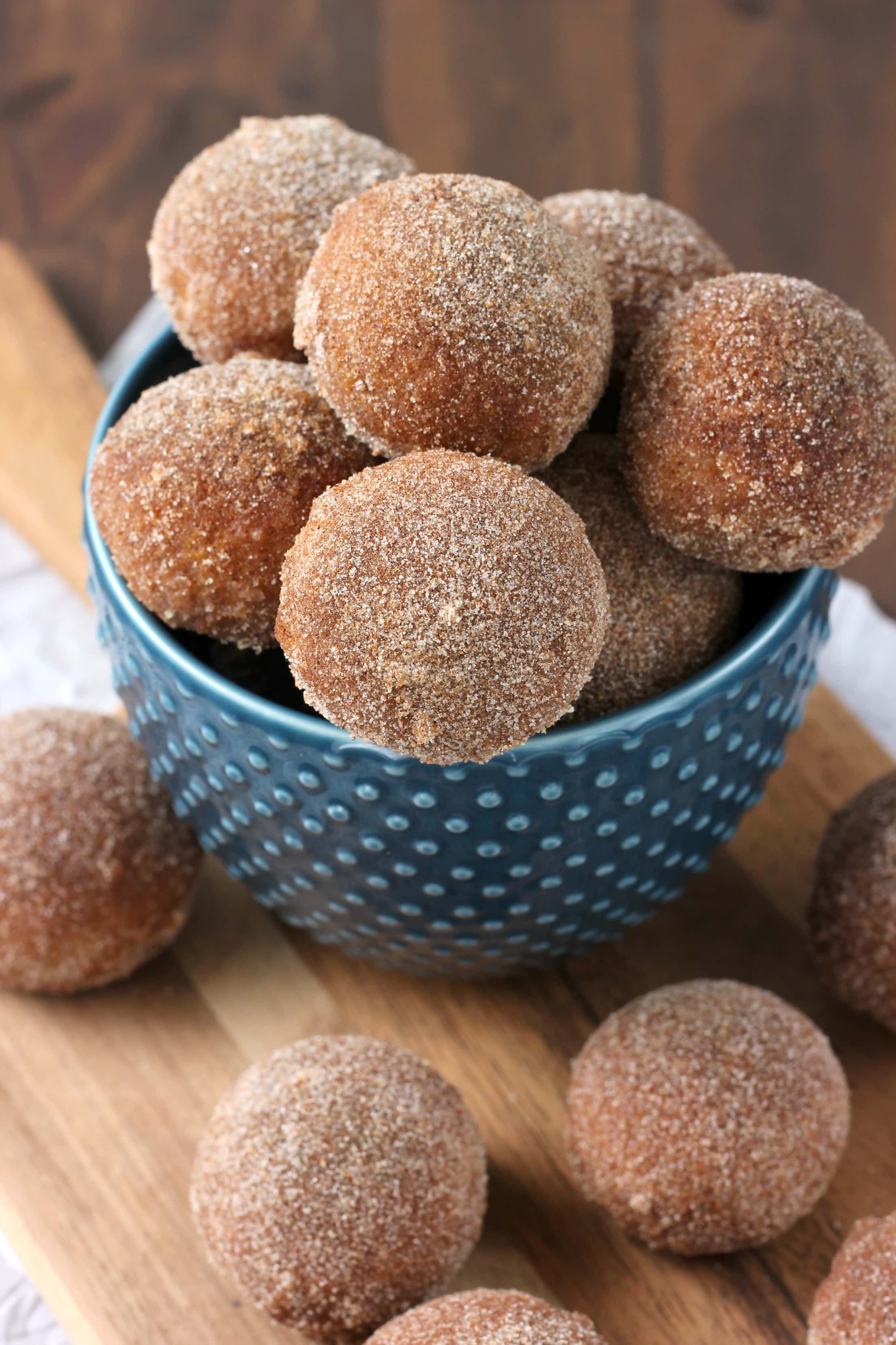 Gingerbread Soft Pretzel Bites with Cream Cheese Dip Recipe from A Kitchen Addiction