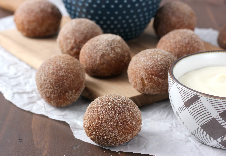 Gingerbread Soft Pretzel Bites Recipe from A Kitchen Addiction
