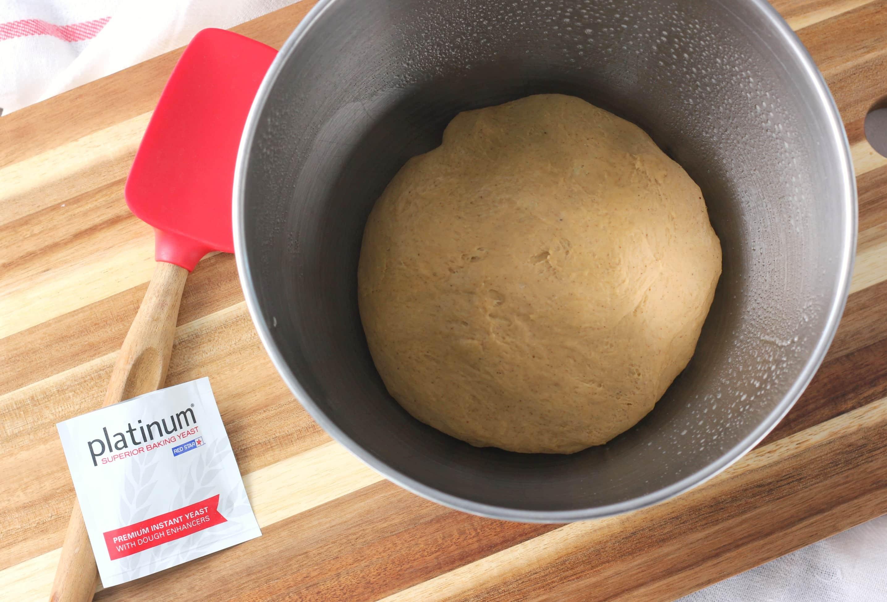 Gingerbread Pretzel Bites Dough