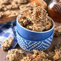 Coconut Honey Almond Granola Clusters