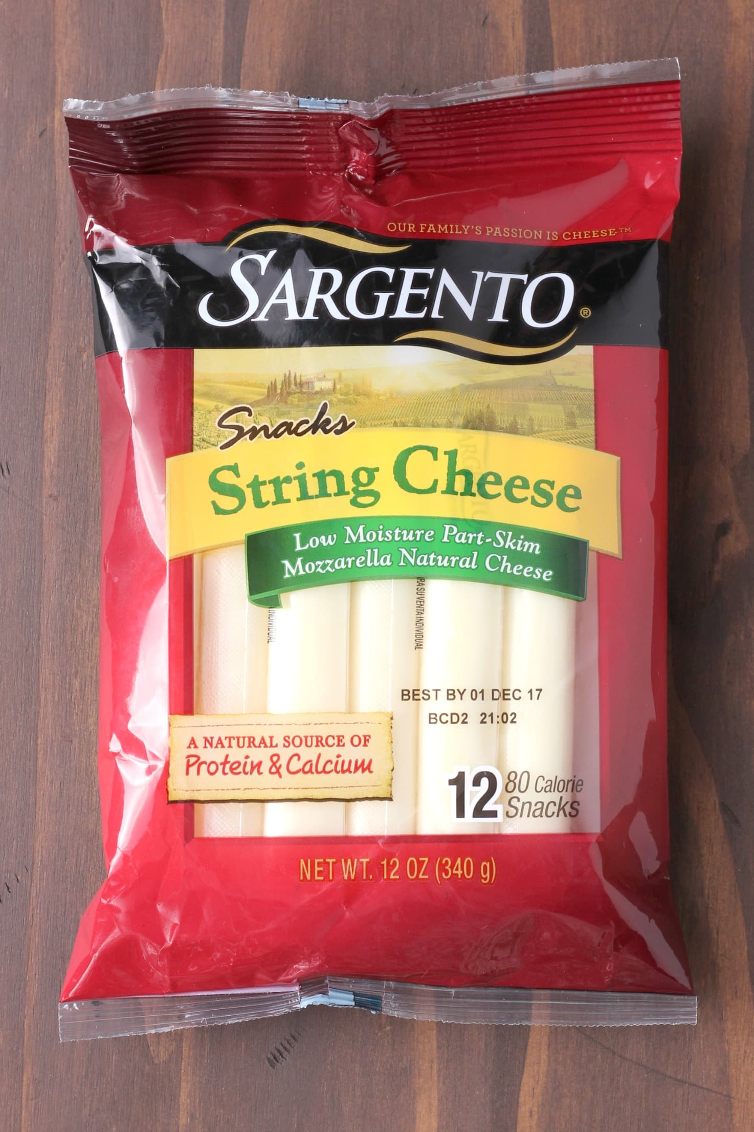 Sargento Mozzarella String Cheese