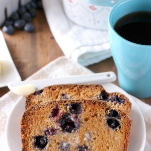 Blueberry English Muffin Bread