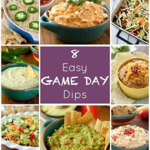8 Easy Game Day Dips