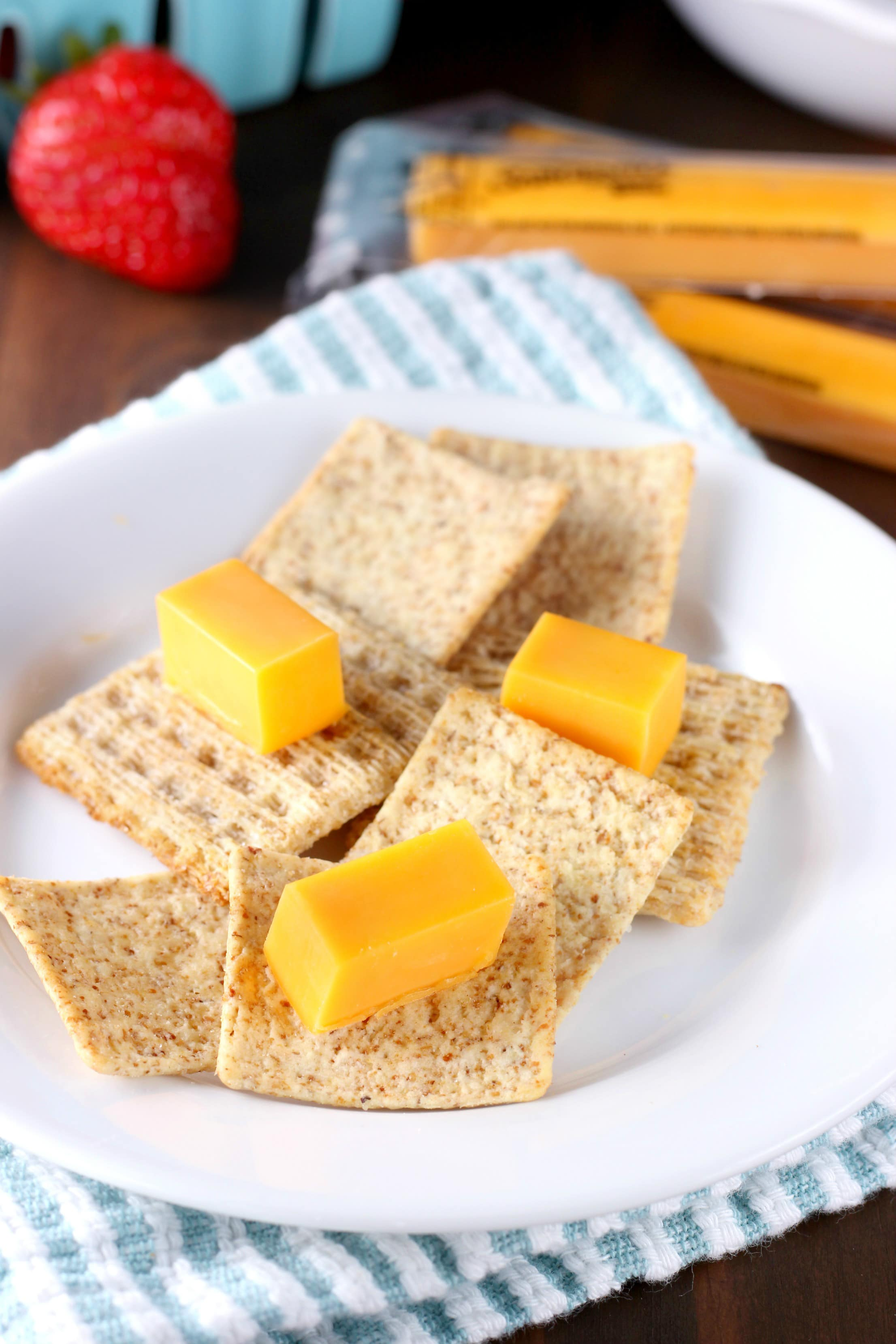 Cheese and Crackers Plate