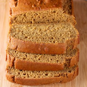 Classic Pumpkin Bread Recipe from A Kitchen Addiction