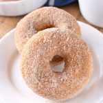 Easy Baked Pumpkin Cardamom Donuts Recipe from A Kitchen Addiction
