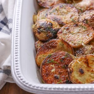 Grilled Lemony Dill Potato Salad