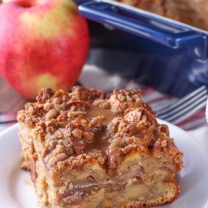 Spiced Apple Pie French Toast Bake (Overnight Option!) + GIVEAWAY!