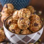 Dark Chocolate Pumpkin Spice Granola Bites Recipe from A Kitchen Addiction