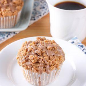 Pear Chai Muffins {Whole Wheat}