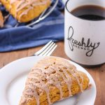 Pumpkin French Toast Scones Recipe from A Kitchen Addiction