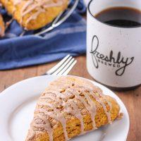 Pumpkin French Toast Scones