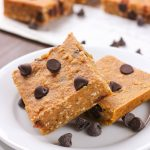 Chocolate Chip Pumpkin Snack Bars Recipe from A Kitchen Addiction