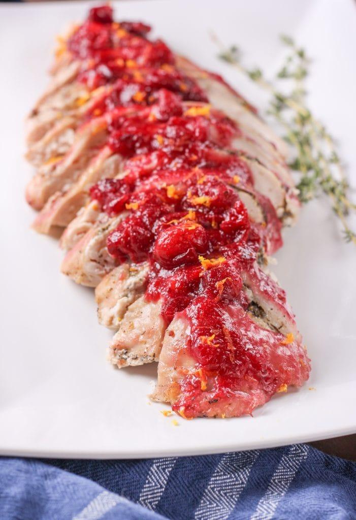 Slow Cooker Cranberry Orange Turkey Breast
