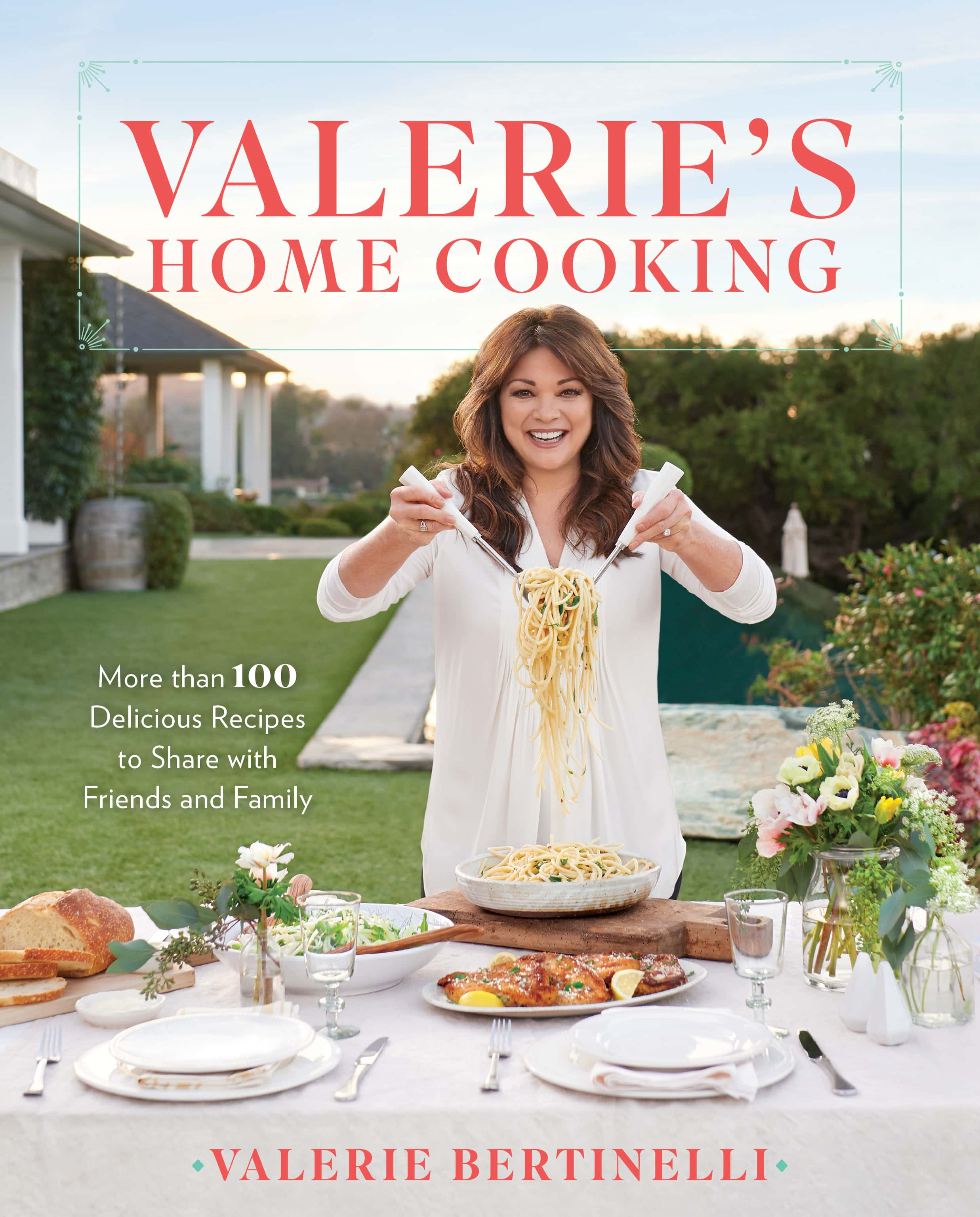 Valerie's Home Cooking Cookbook Cover