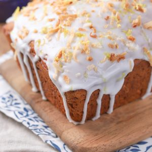 Lemon Coconut Yogurt Quick Bread Recipe