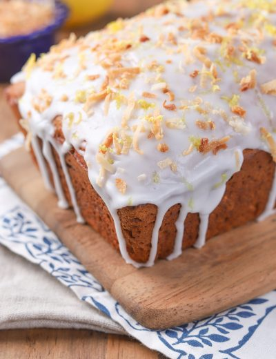 Lemon Coconut Yogurt Bread