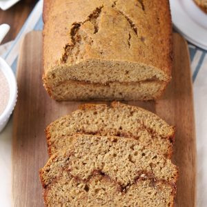 Cinnamon Swirl Banana Bread Recipe