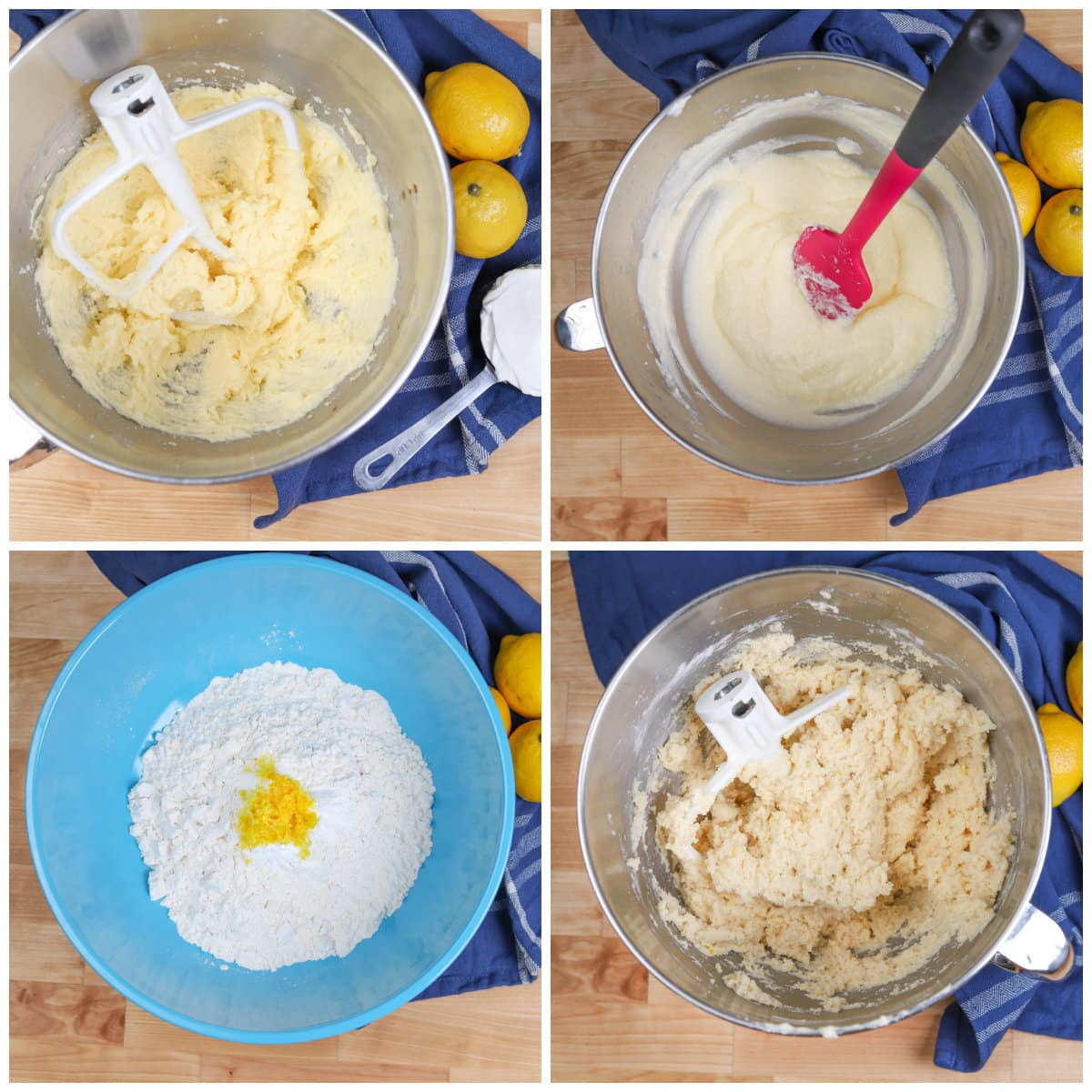 Steps to make cookie dough