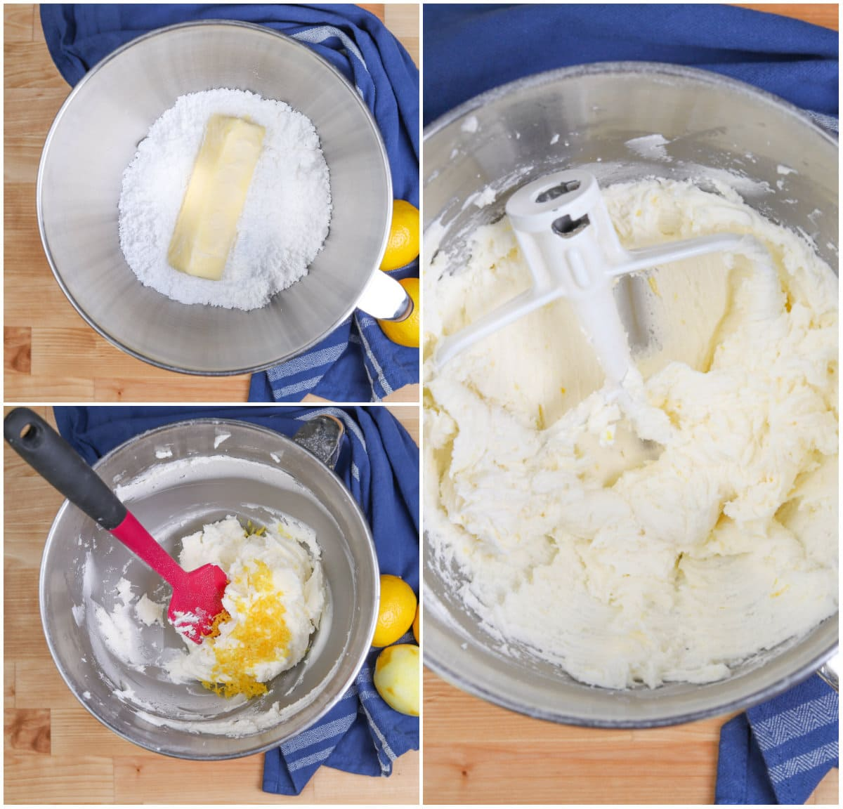 how to make lemon buttercream frosting