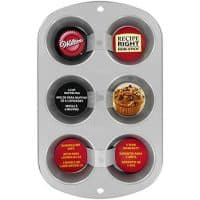 Nonstick 6-Cup Regular Muffin Pan