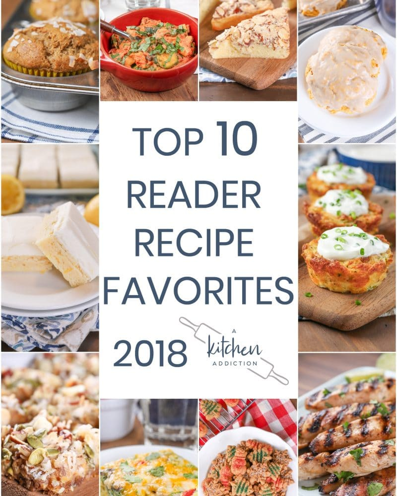 2018 Reader Recipe Favorites