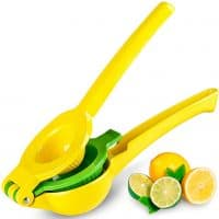 Zulay Metal Lemon Lime Squeezer - Press Juicer