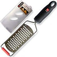 Di Oro Stainless Steel Handheld Cheese Grater, Dishwasher Safe