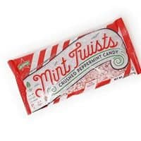 Atkinson's Mint Twists Crushed Peppermint Candy for Baking(1 Bag 8 oz)