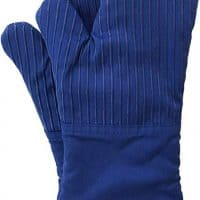 Oven Mitts, Recycled Cotton Infill, Terrycloth Lining, 480 F Heat Resistant