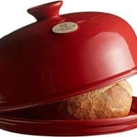 Emile Henry Made In France Bread Cloche Burgundy