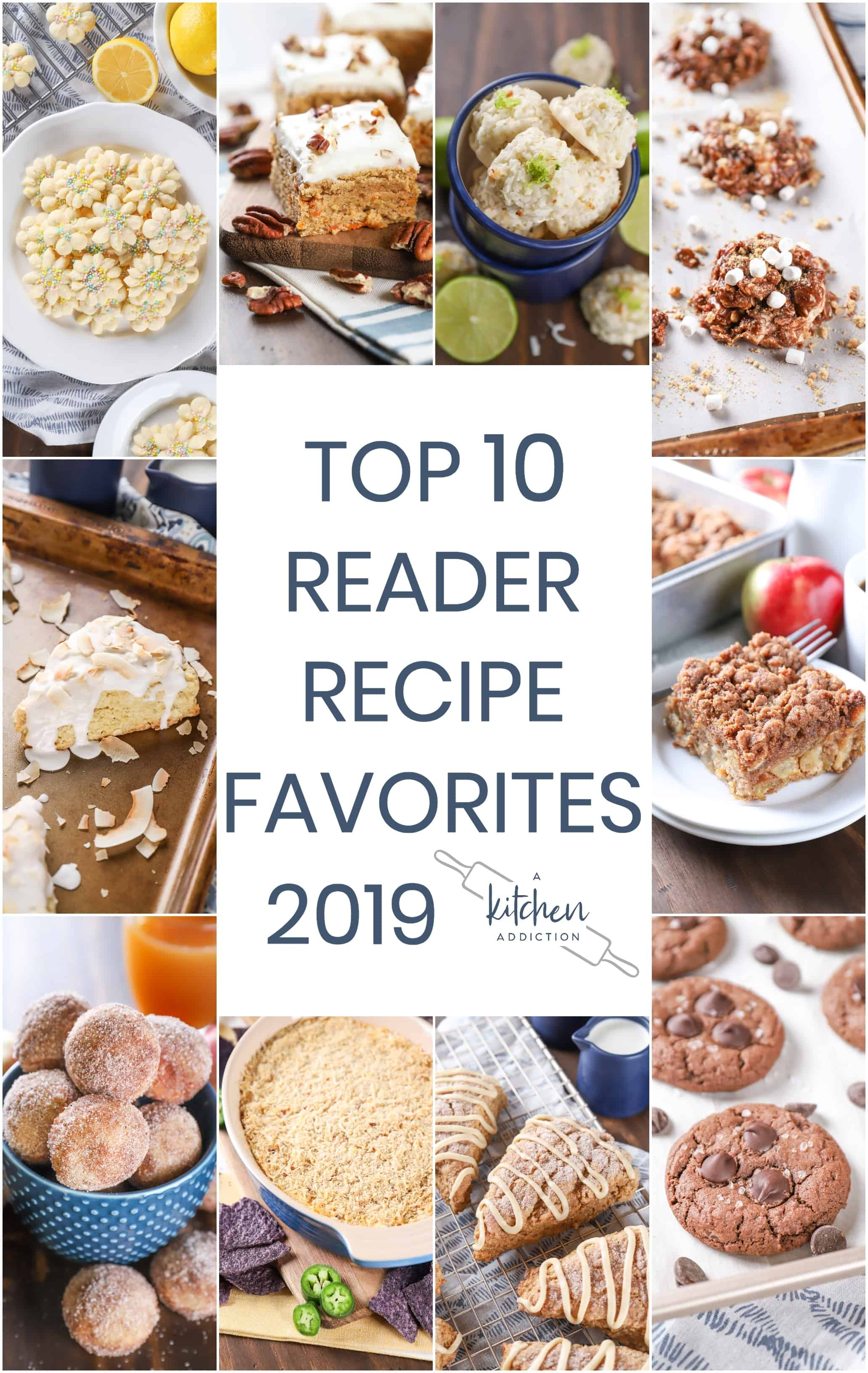 collage of favorite recipes