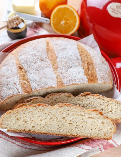 Slices of Rustic Orange Cardamom Bread