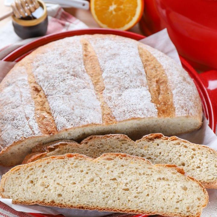 Rustic Orange Cardamom Bread