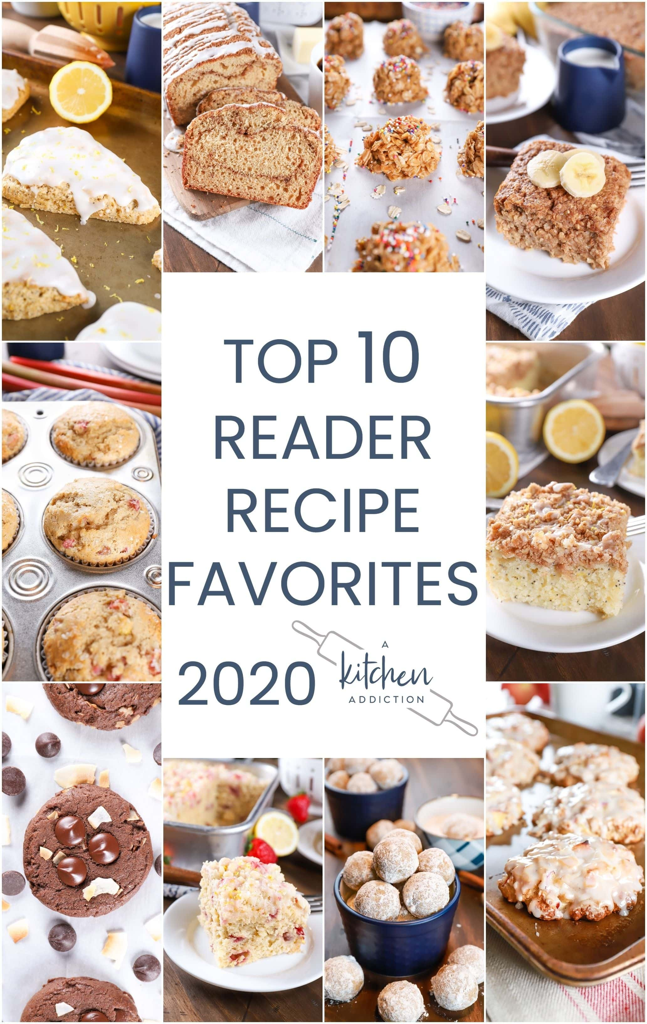 Collage of 10 recipe images